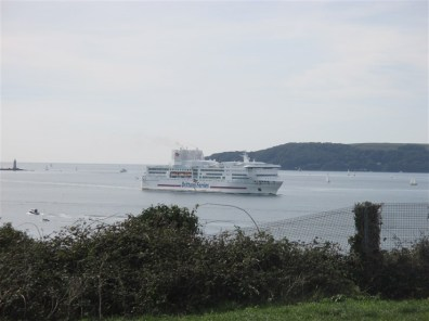 Brittany Ferry coming in...