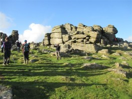 Back to Hound Tor in the sunshine