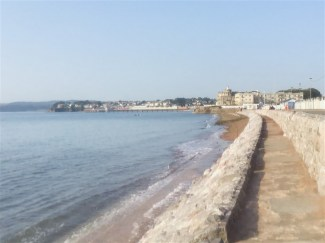 A quiet seafront at this time