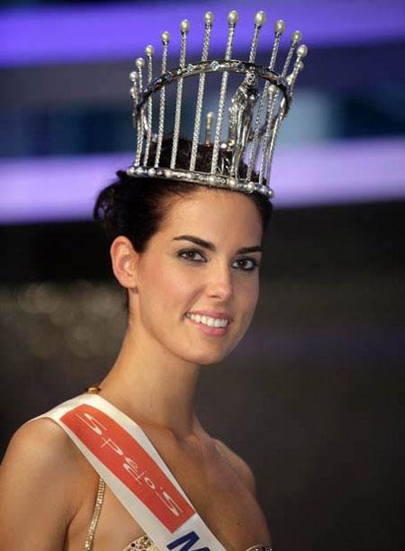 La Corona de Miss España