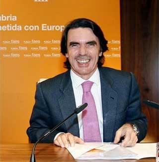 Hoy he conocido a Aznar