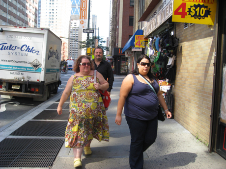 Gordas en New York