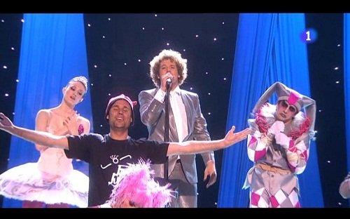 Muy chula la cancion ganadora de Eurovision