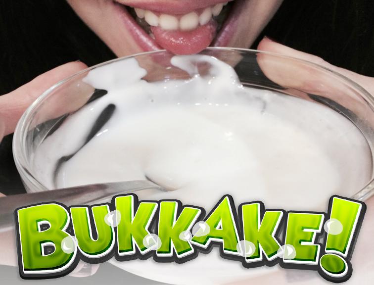 Este Miércoles Bukkake con Rubi!