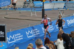 Totta's sprint to finish line, Stockholm Triathlon 2014
