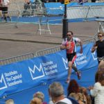 Totta's sprint to finish line, Stockholm Triathlon 2014