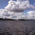 Panoramic view of Water front