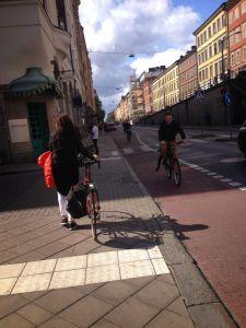 Hornsgatan Sodermalm Stockholm