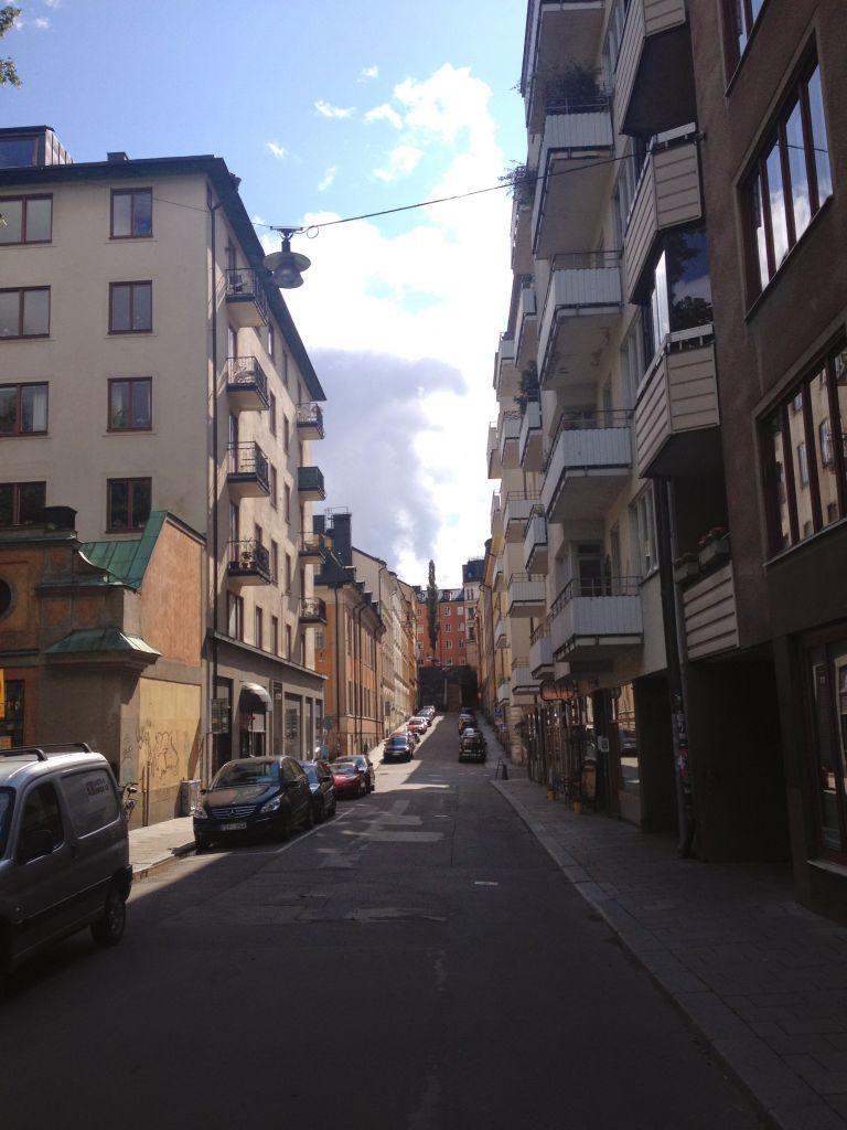 Sankt Paulsgatan Sodermalm Stockholm