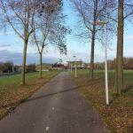 Bike path near Noordzee Kaanal