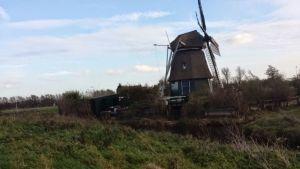 Windmill Near Harleem