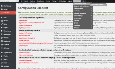 Wordpress CiviCRM
