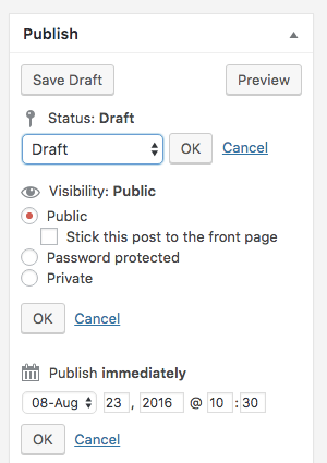 WP Page Options
