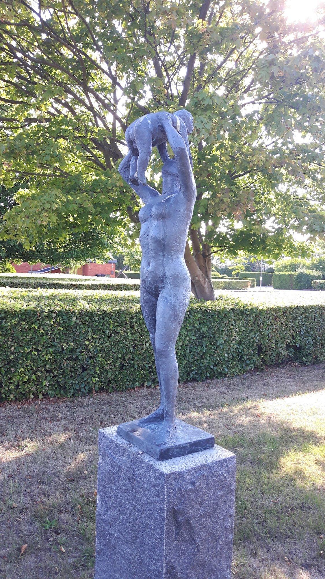 Statue Rodbyhavn Denmark