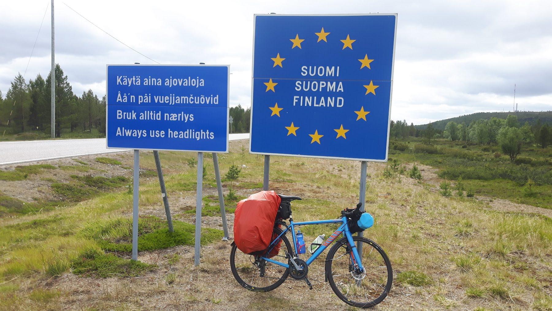 Norwegian Finnish Border