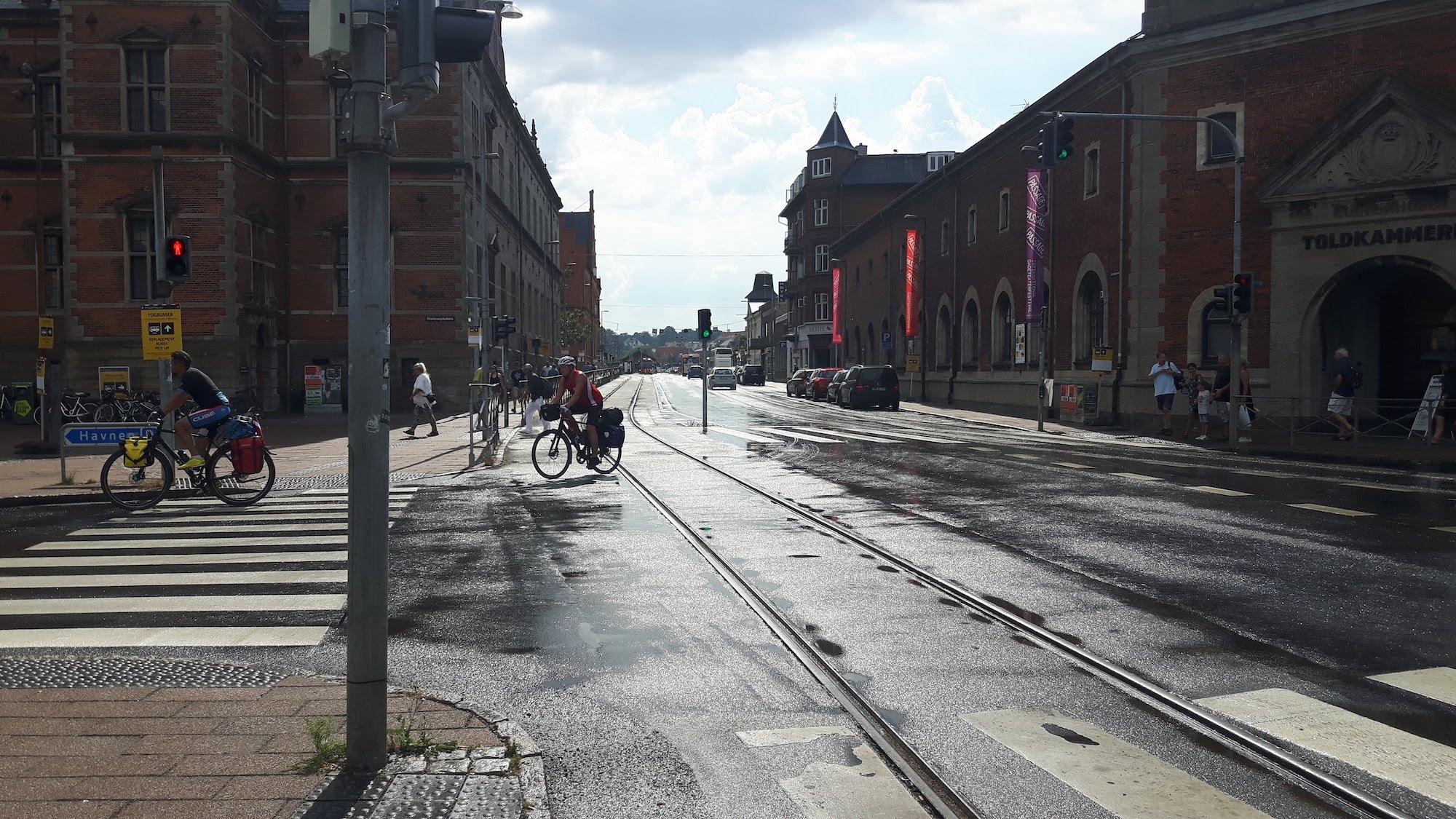 City Street Helsingor Denmark
