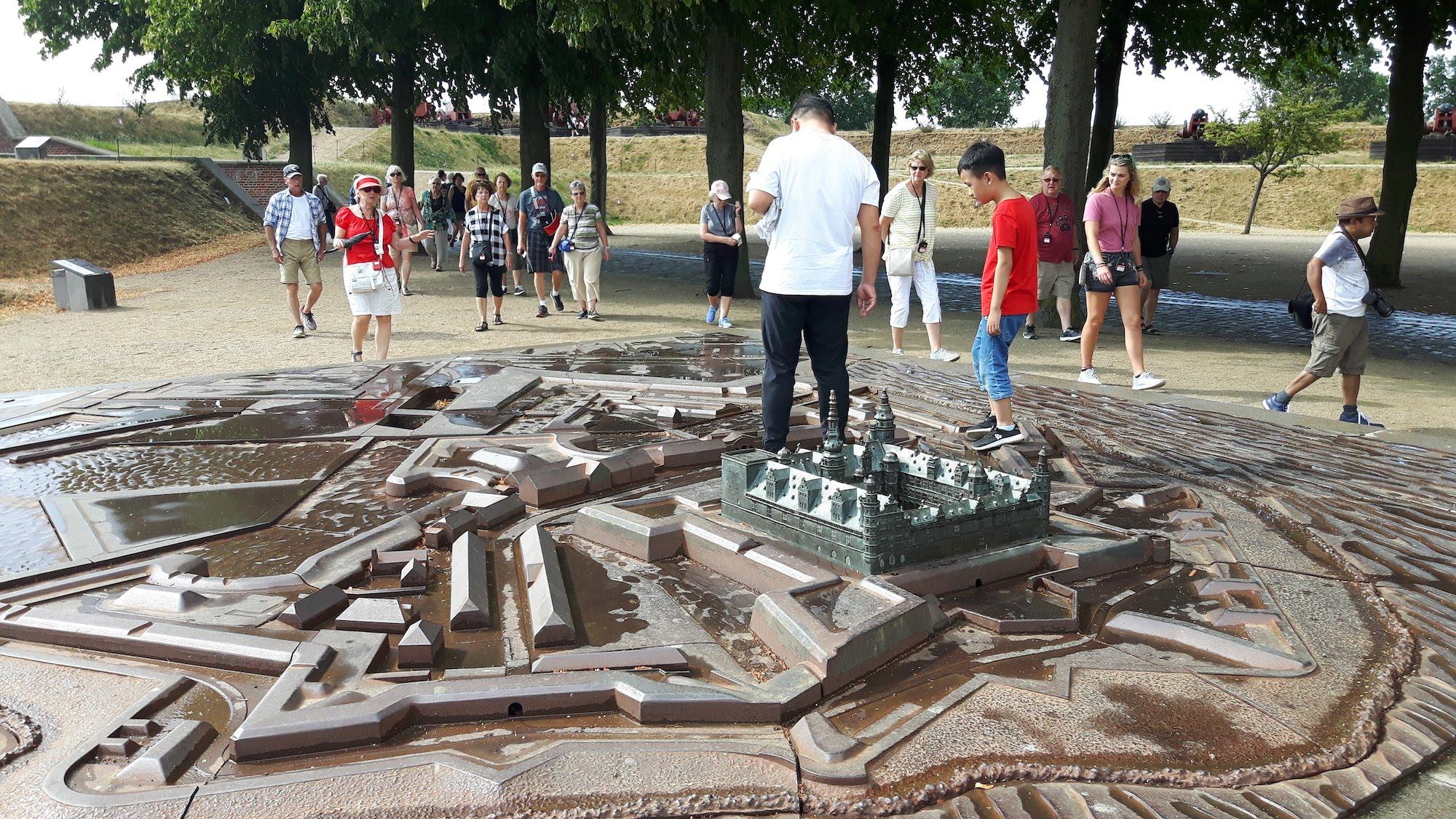 Helsingor Castle model Denmark