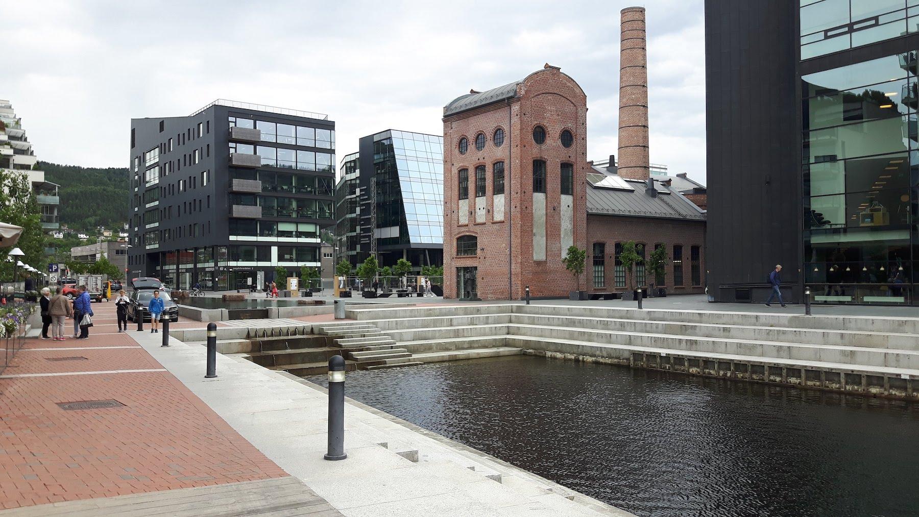 Drammen Union scene