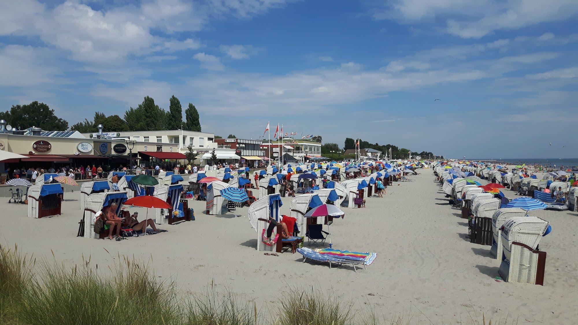 Grömitz Beach Germany