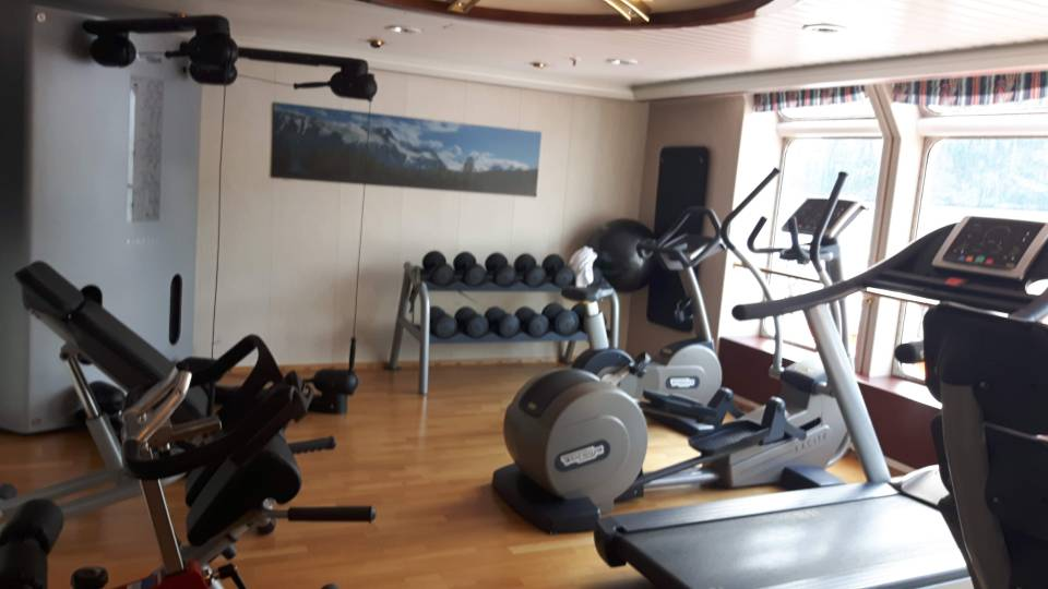 Onboard Gym MS Richard With