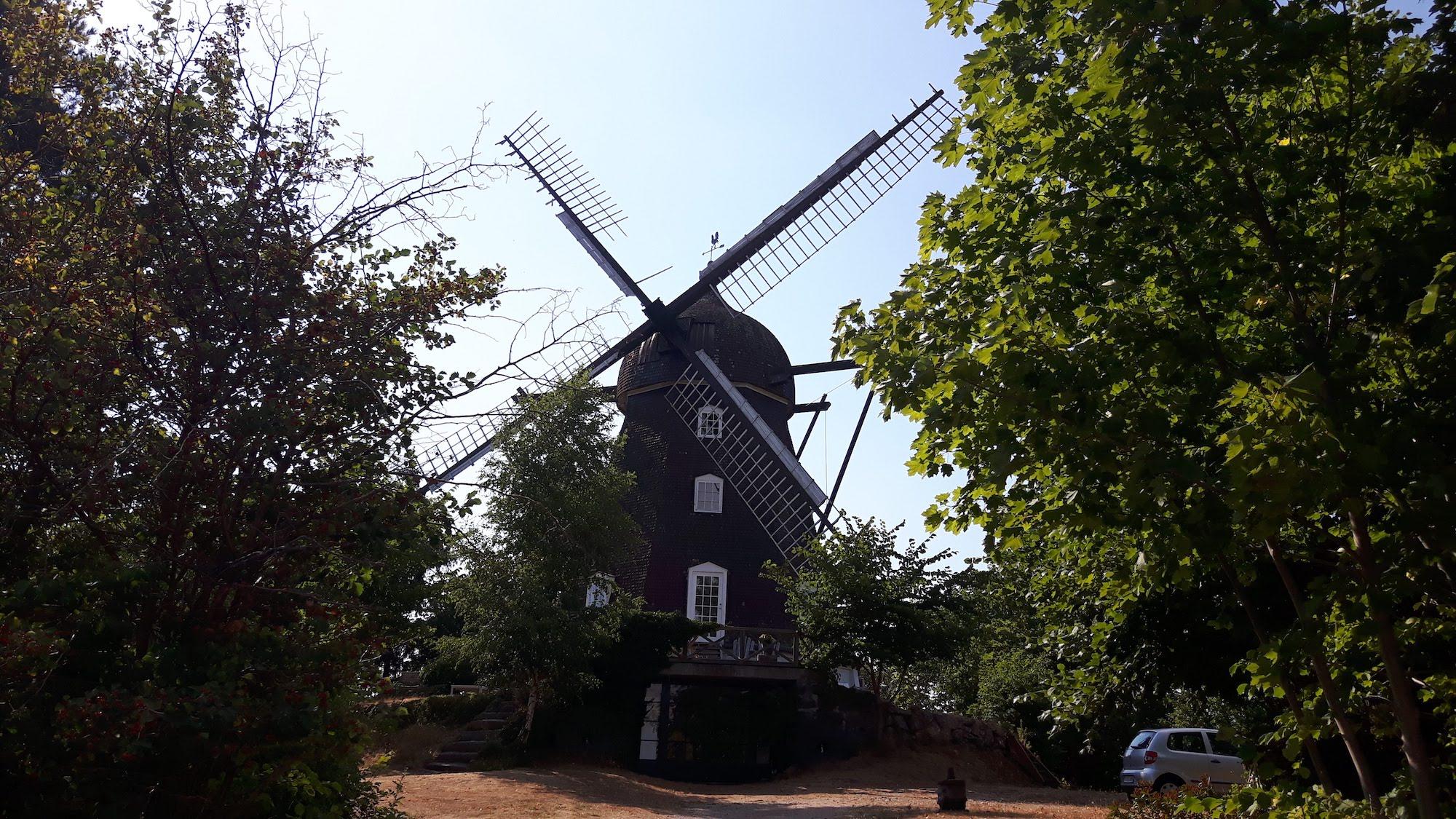 Windmill near Helsingor Denmark