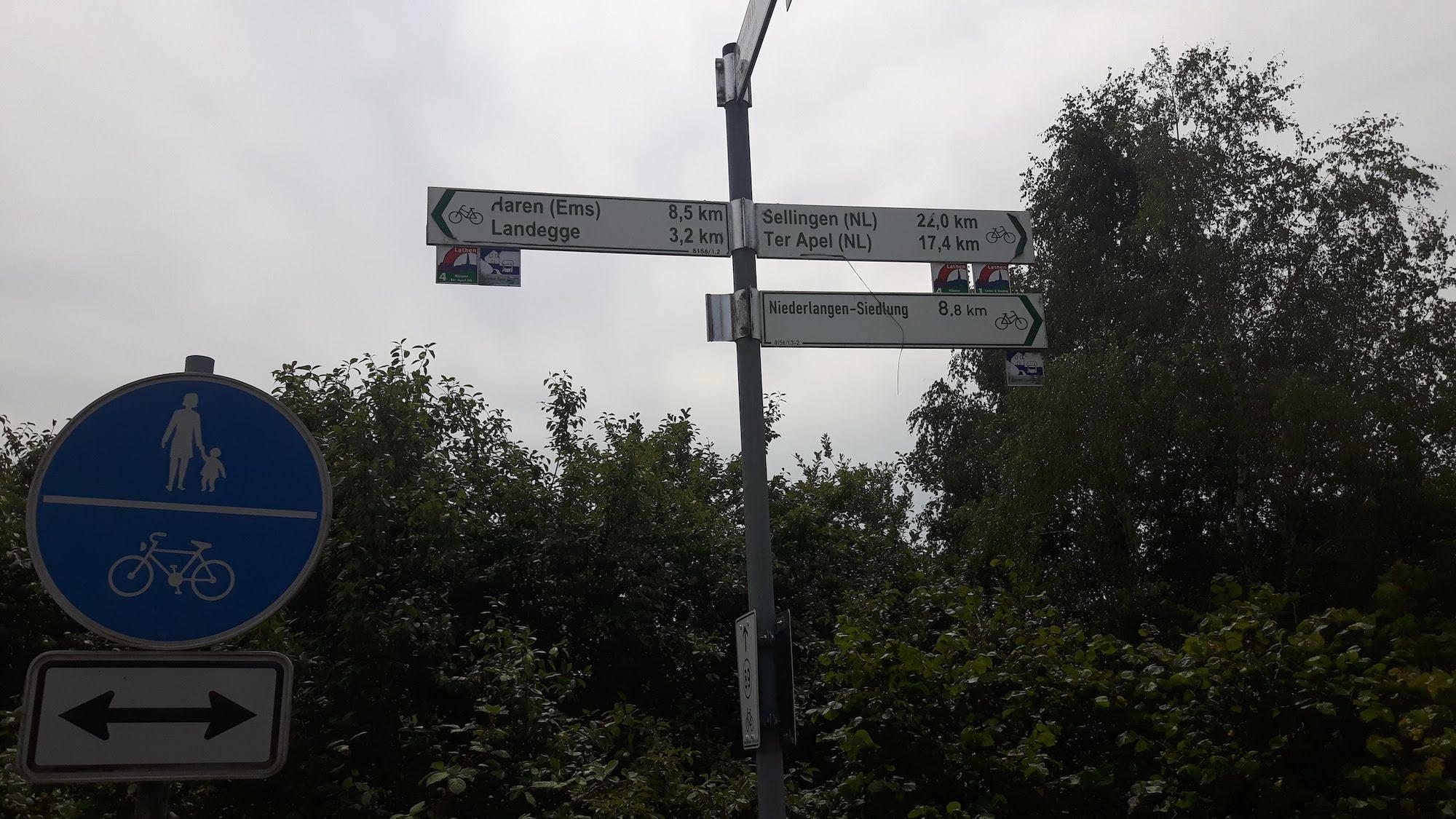 Towards Netherlands in Germany
