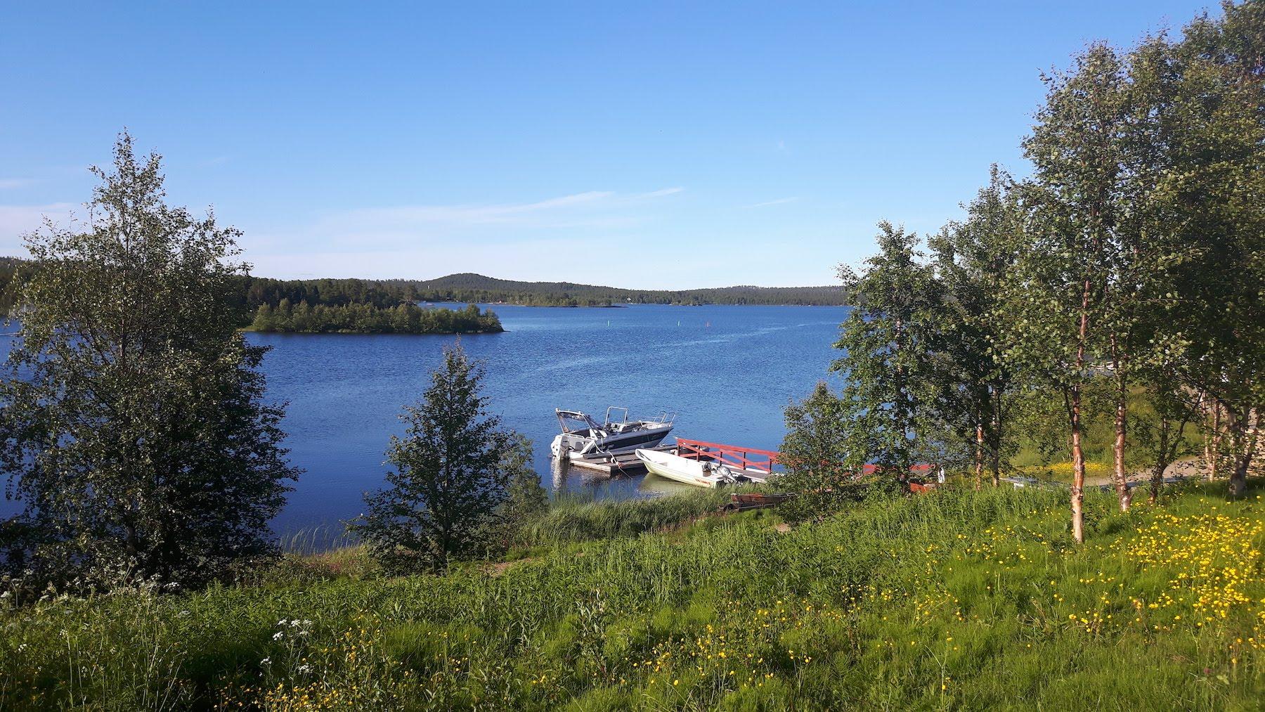 Lake Inari Finland