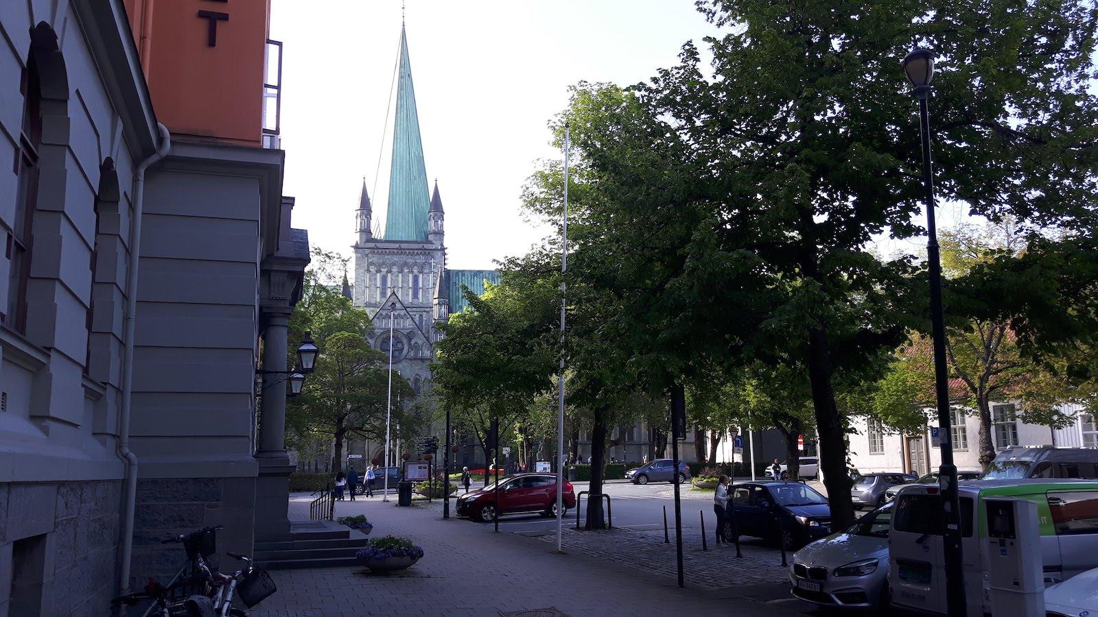 Another Street in Trondheim
