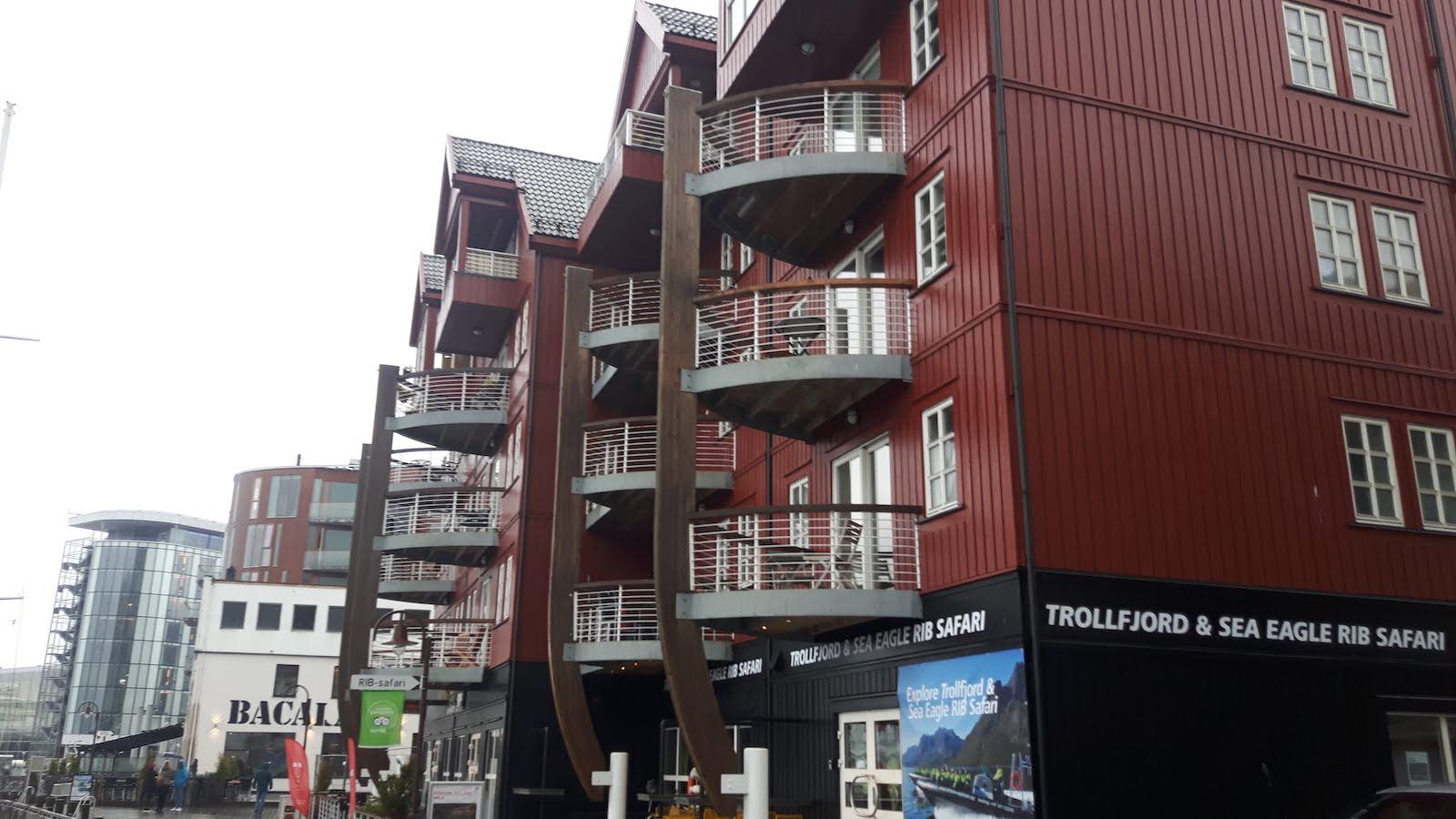 Lofoten Buildings Norway