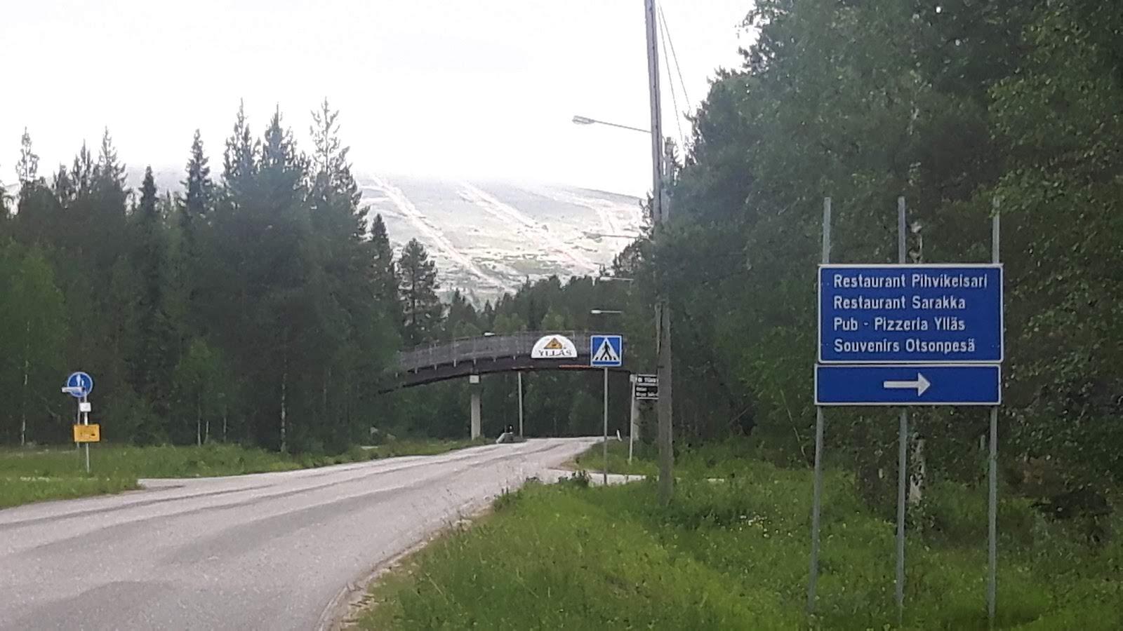 Ski Resort Ylläsjärvi Finland