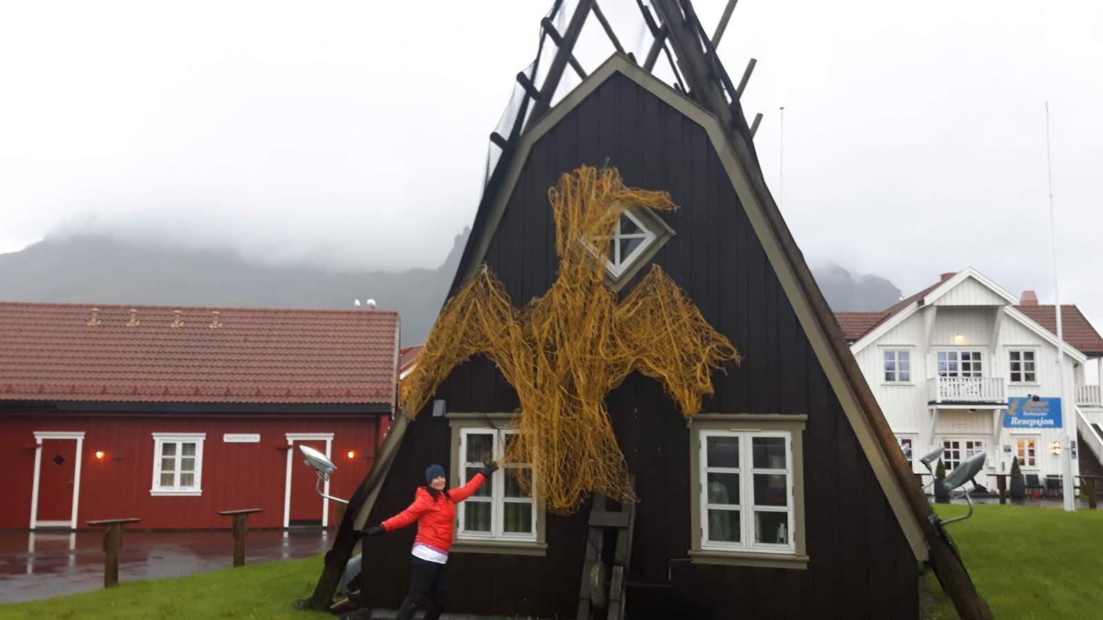 Lofoten building Norway