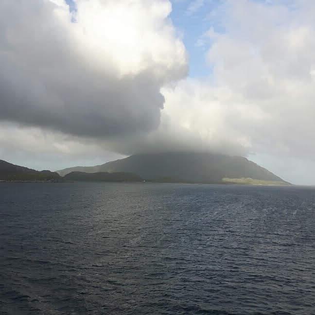 Lofoten sailing towards Tromso