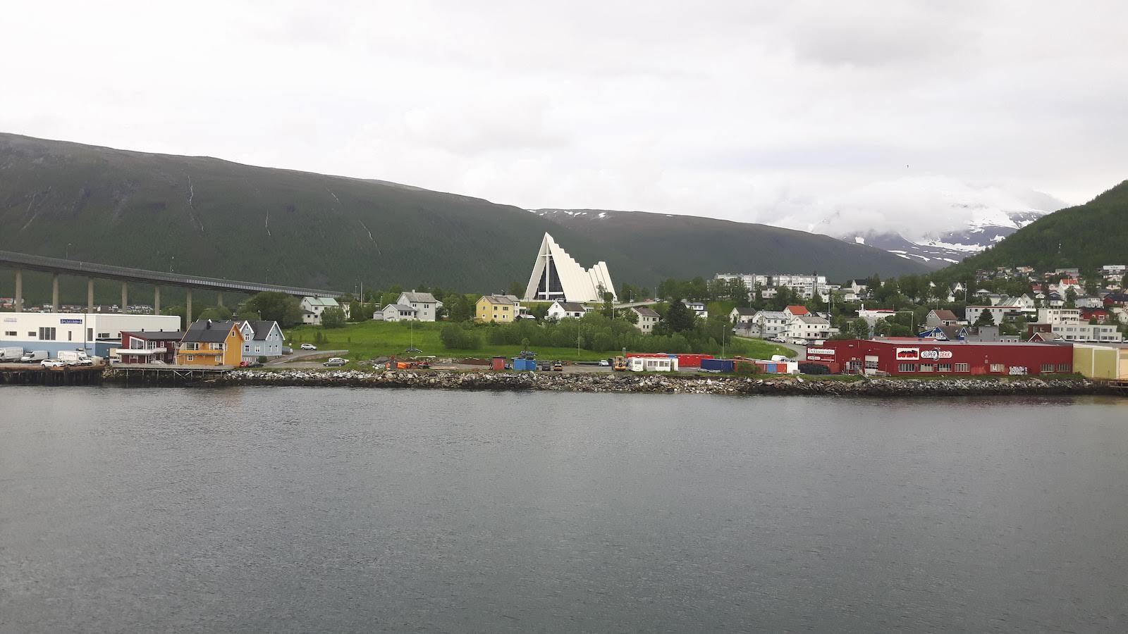 Across the Bay Tromso Norway