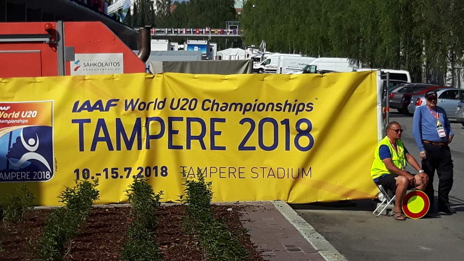 Athletics Tampere Finland