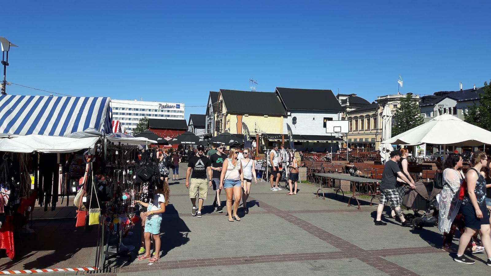 Market Oulu Finland