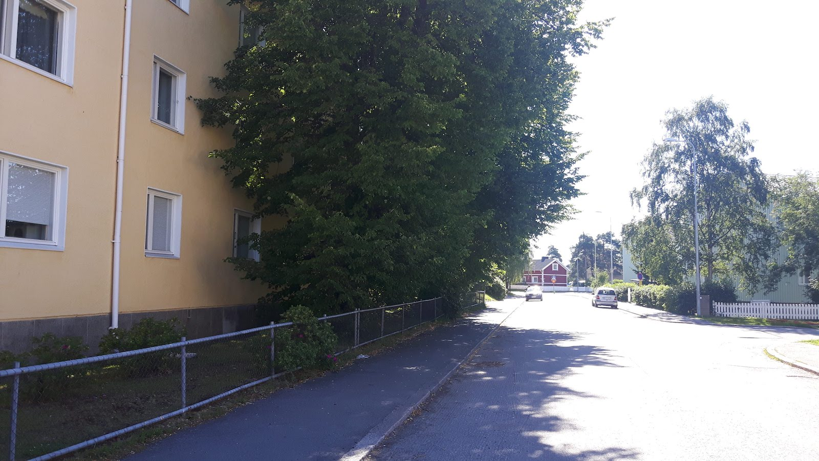 Apartment Building I stayed at Oulu Finland