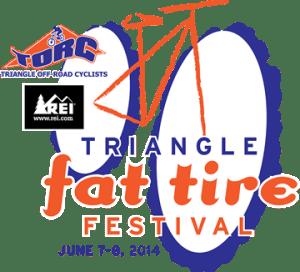 Triangle Fat Tire Festival logo: 2014