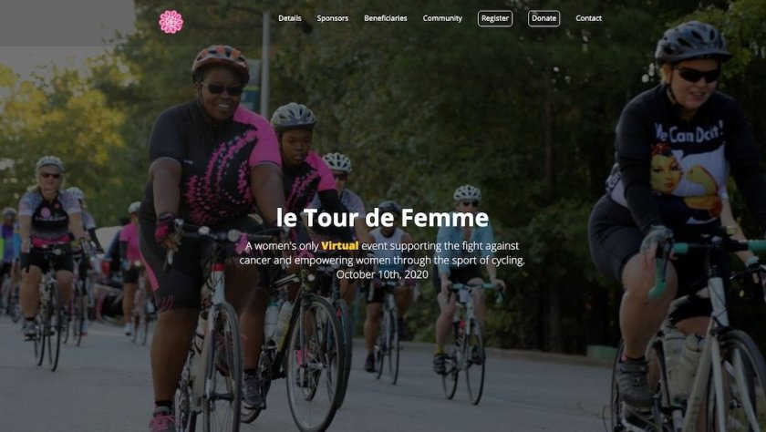 Go Bob? or Go Bald? by supporting le Tour de Femme