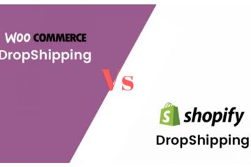 woocommerce dropshipping vs shopify dropshipping