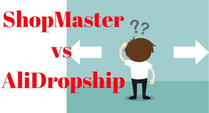shopmaster vs alidropship