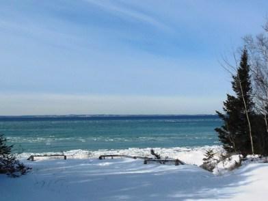Pretty cold view of the Bay