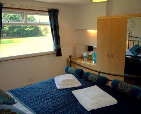 Torcroft Lodges Lodge 4 Double bedroom