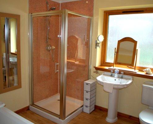 Walk in Shower in Meiklie Lodge