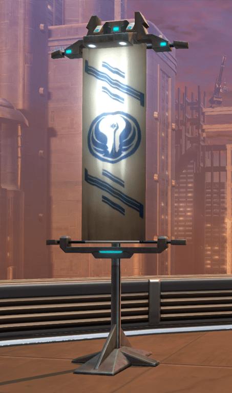 TOR Decorating | Flag: Republic Standard (SWTOR)