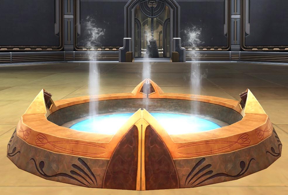 Fountain Jedi Temple