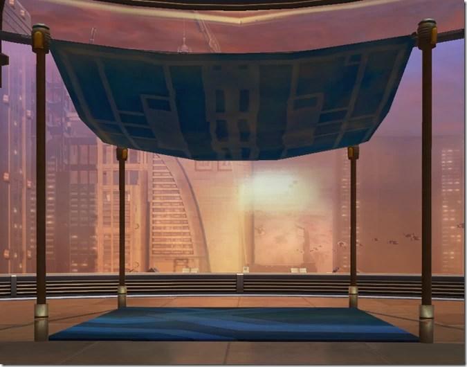Market Canopy (Blue)
