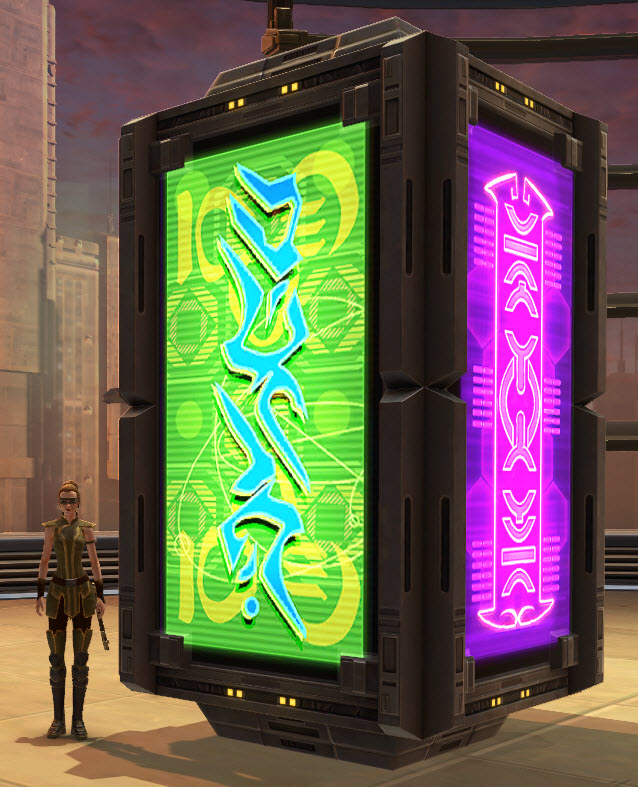 Market Kiosk Neon Lights 2