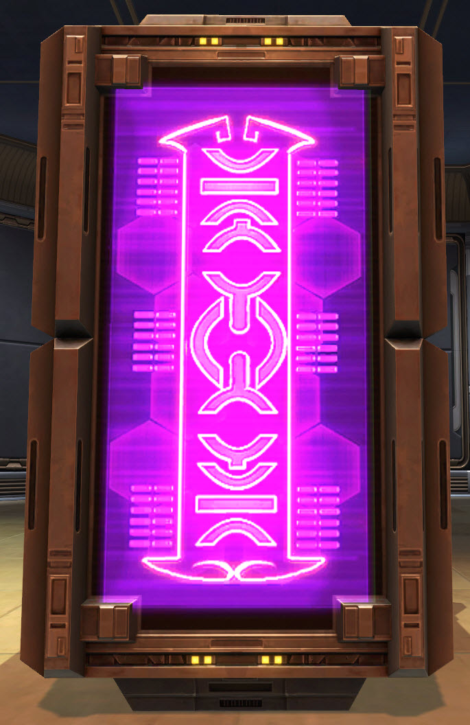 Market Kiosk Neon Lights