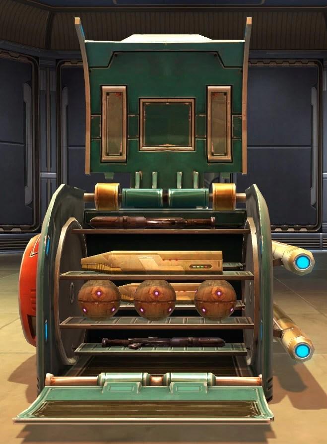 Weapon Rack Bounty Brokers