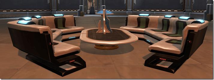 Arrangement Executive's Lounge